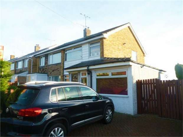 4 Bedrooms Semi Detached House for sale in Greengate Lane, High Green, Sheffield, South Yorkshire