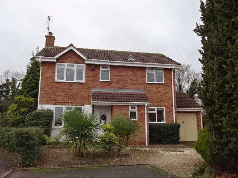 3 Bedrooms Detached House for sale in Linnet Rise, Kidderminster DY10 4TU