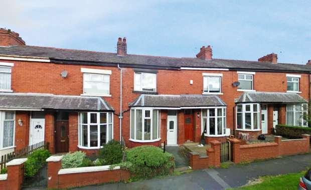 2 Bedrooms Terraced House for sale in Moorfield Avenue, Blackburn, Lancashire, BB1 9BU
