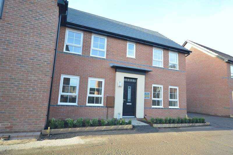 4 Bedrooms Semi Detached House for sale in Woodland View, Telford