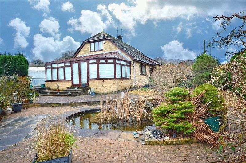 3 Bedrooms Detached Bungalow for sale in Greenfield Close, Cwmbran