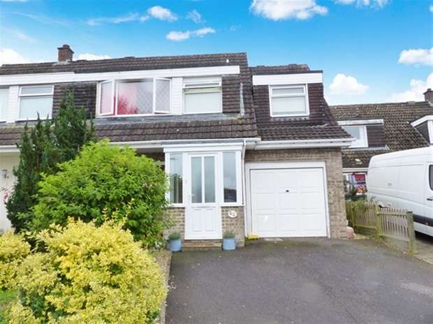 4 Bedrooms Semi Detached House for sale in Langholm Close, Warminster