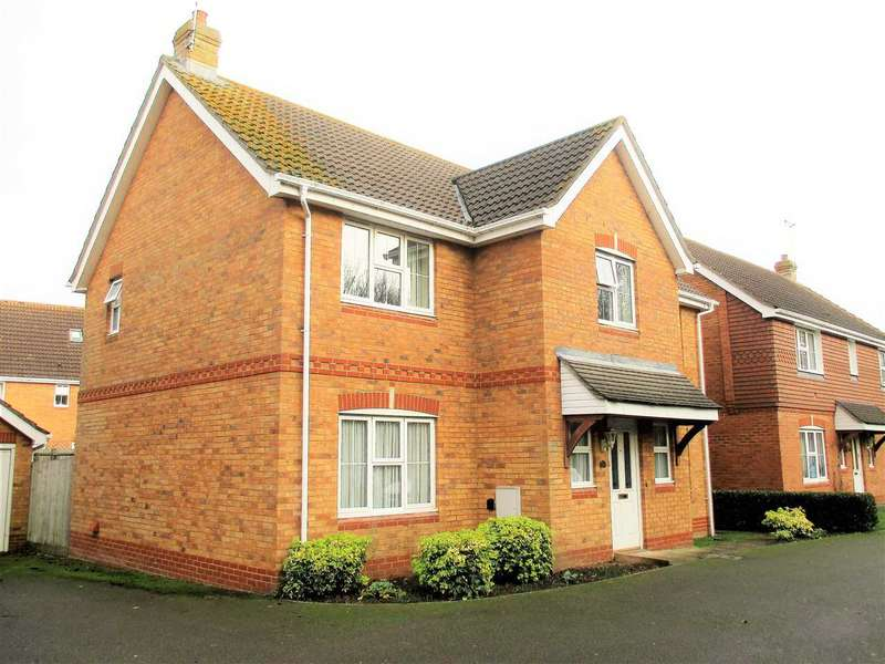 4 Bedrooms Detached House for sale in Christopher Bushell Way, Ashford