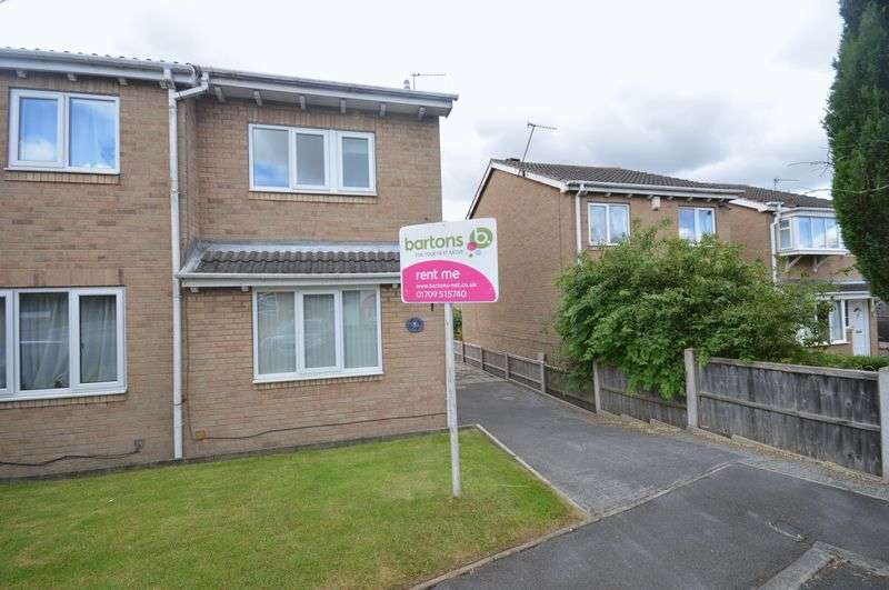 2 Bedrooms Semi Detached House for sale in Aldrin Way, Maltby, Rotherham