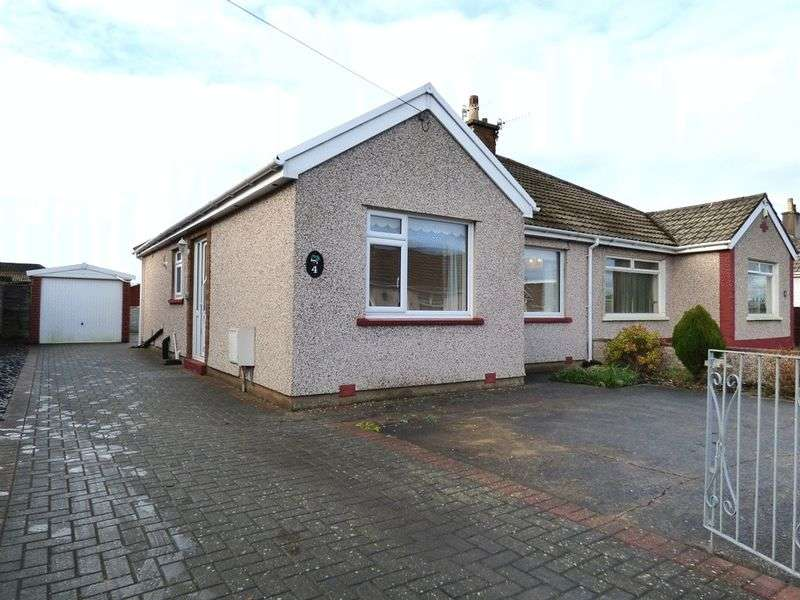 2 Bedrooms Semi Detached Bungalow for sale in Pedder Avenue, Morecambe