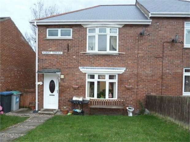 3 Bedrooms Semi Detached House for sale in Robert Terrace, Stanley, Durham