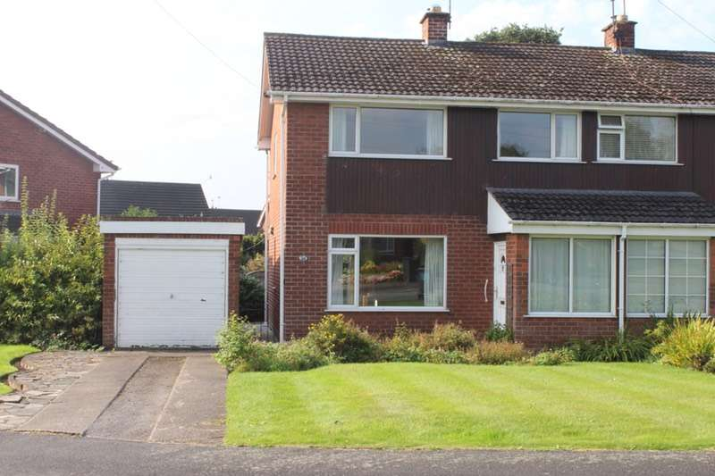 3 Bedrooms Semi Detached House for sale in Hallfields rd, Tarvin, Cheshire, CH3