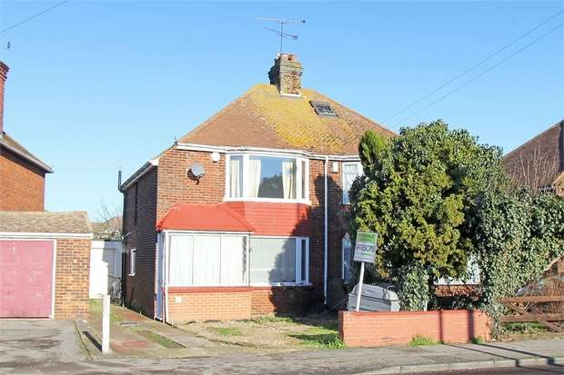 2 Bedrooms Semi Detached House for sale in Vicarage Road, Milton, Sittingbourne, Kent