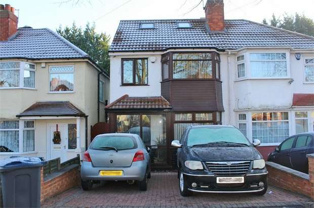 5 Bedrooms Semi Detached House for sale in Cateswell Road, Sparkhill, Birmingham, West Midlands
