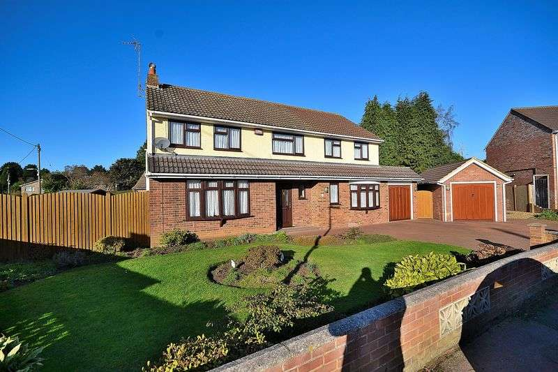 4 Bedrooms Detached House for sale in Sheepcote Crescent, Heath and Reach