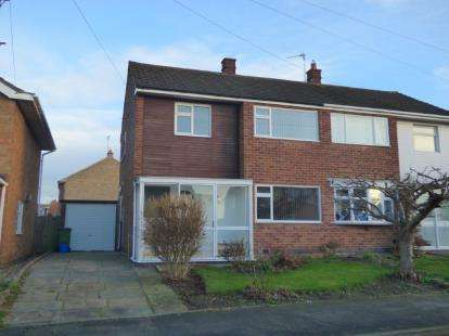 3 Bedrooms Semi Detached House for sale in Horsewell Lane, Wigston, Leicester, Leicestershire
