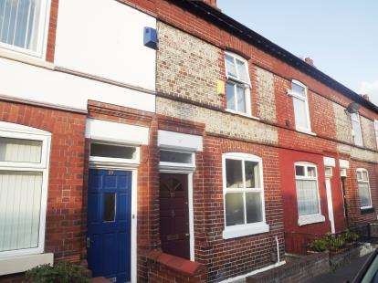 2 Bedrooms Terraced House for sale in Belgrave Road, Sale, Trafford, Greater Manchester