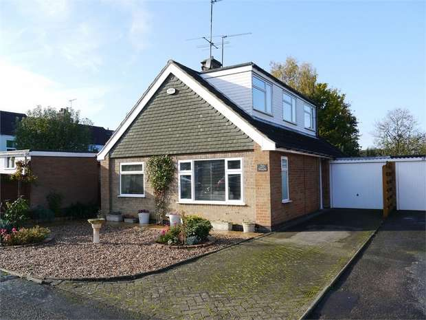 3 Bedrooms Detached Bungalow for sale in Thornborough Close, Little Bowden, Market Harborough, Leicestershire
