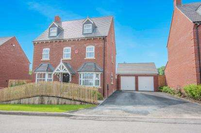 5 Bedrooms Detached House for sale in Gerards Way, Coleshill, Birmingham, Warwickshire