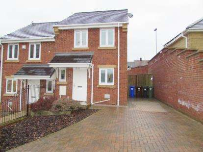 2 Bedrooms Semi Detached House for sale in Ashby Gardens, Hyde, Greater Manchester