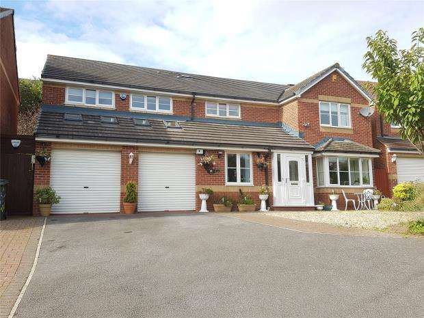 6 Bedrooms Detached House for sale in Trelissick Close, Paignton, Devon