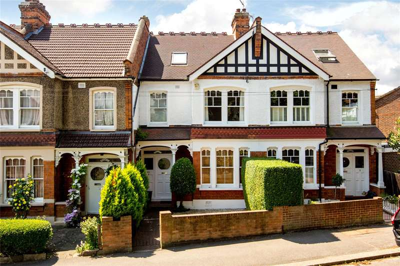 4 Bedrooms Terraced House for sale in Langham Road, West Wimbledon, SW20