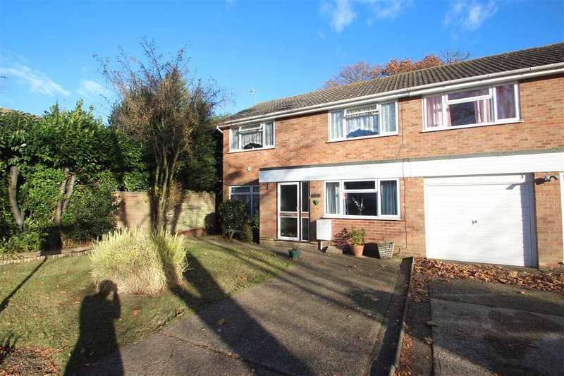 3 Bedrooms Semi Detached House for sale in Gilderdale Close, St. Johns, Colchester
