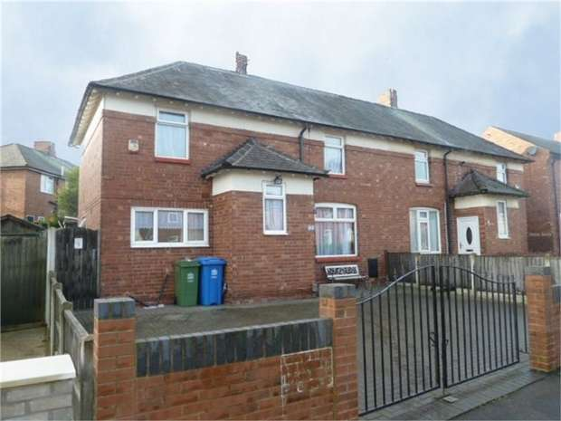 3 Bedrooms Semi Detached House for sale in Nightingale Drive, Mansfield, Nottinghamshire