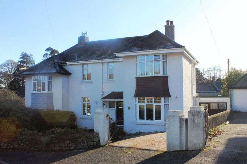 3 Bedrooms Semi Detached House for sale in Penwinnick Road, St. Austell