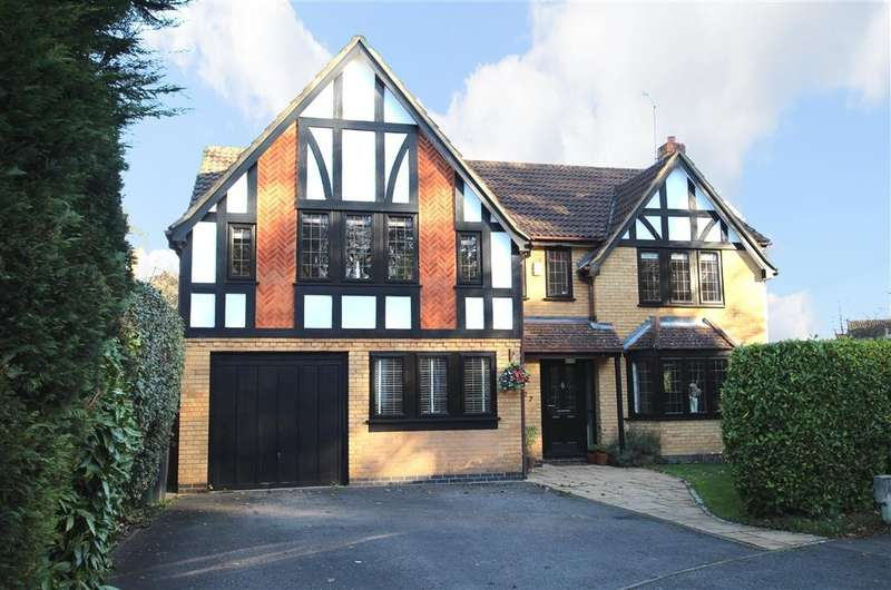 5 Bedrooms Detached House for sale in Vicarage Wood Way, Tilehurst, Reading, RG31