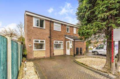 4 Bedrooms Semi Detached House for sale in Glendevon Place, Whitefield, Manchester, Greater Manchester