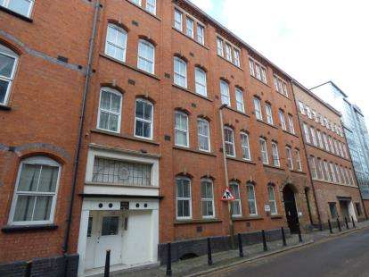 2 Bedrooms Flat for sale in Time House, 3 Duke Street, Leicester