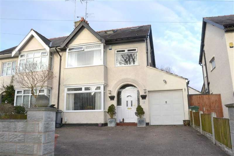 4 Bedrooms Property for sale in Princes Avenue, Eastham, Wirral