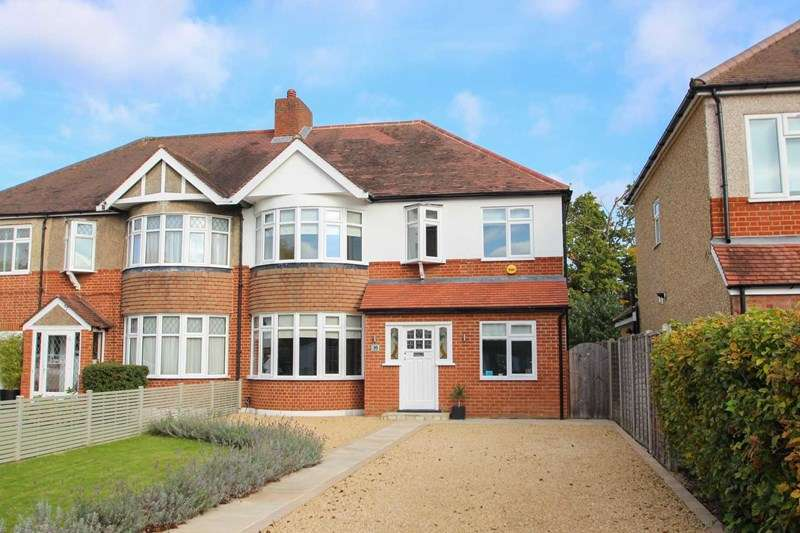4 Bedrooms Semi Detached House for sale in Couchmore Avenue, Hinchley Wood