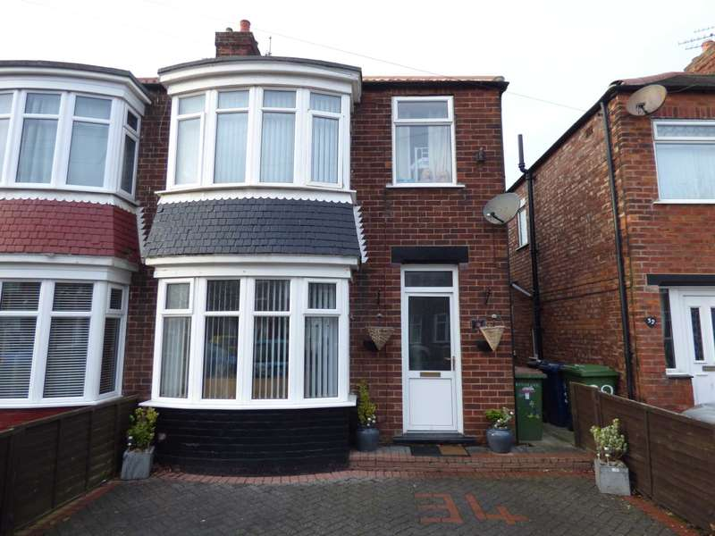 3 Bedrooms Semi Detached House for sale in Ripon Road, Redcar