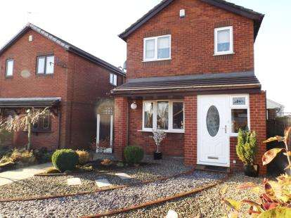 3 Bedrooms Detached House for sale in North Road, Atherton, Manchester, Greater Manchester, M46