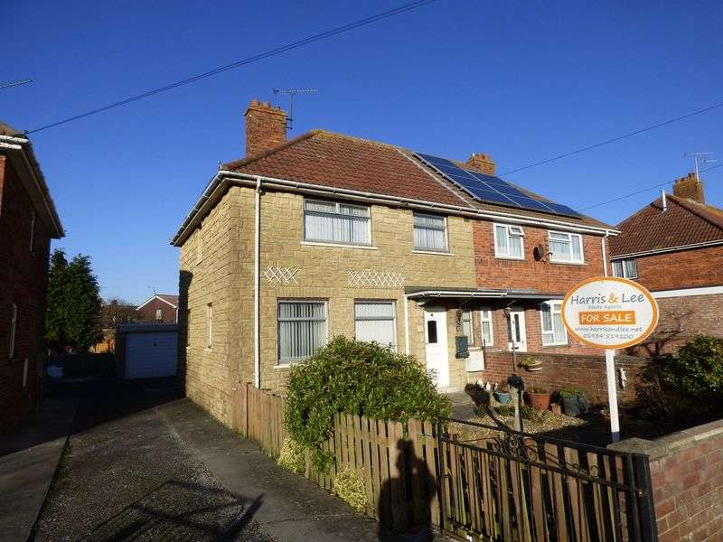 3 Bedrooms Semi Detached House for sale in Byron Road, Weston-Super-Mare
