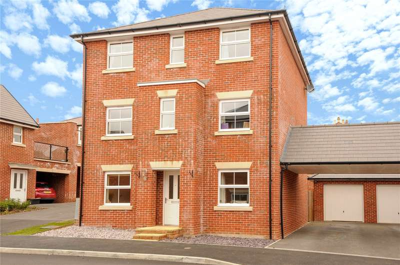 4 Bedrooms Detached House for sale in Jay Rise, Salisbury, Wiltshire, SP2