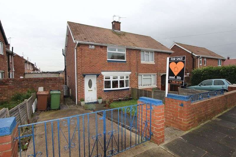 2 Bedrooms Semi Detached House for sale in Antwerp Road, Farringdon, Sunderland