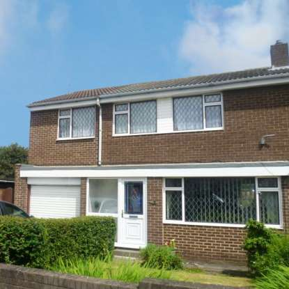 4 Bedrooms Semi Detached House for sale in Holystone Close, Blyth, Northumberland, NE24 4QF