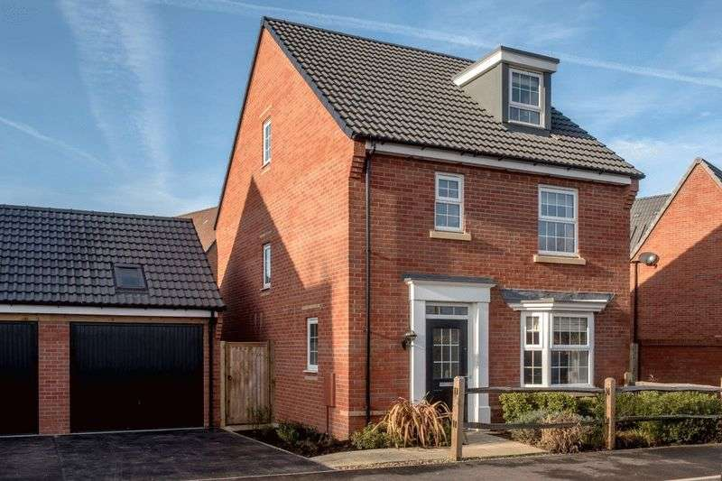 4 Bedrooms Detached House for sale in Hopkins Field, Taunton