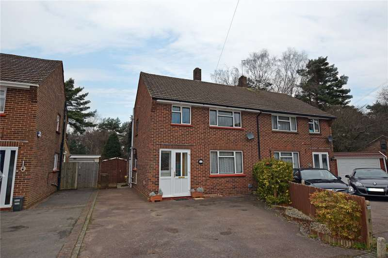 3 Bedrooms Semi Detached House for sale in Larch Close, Camberley, Surrey, GU15
