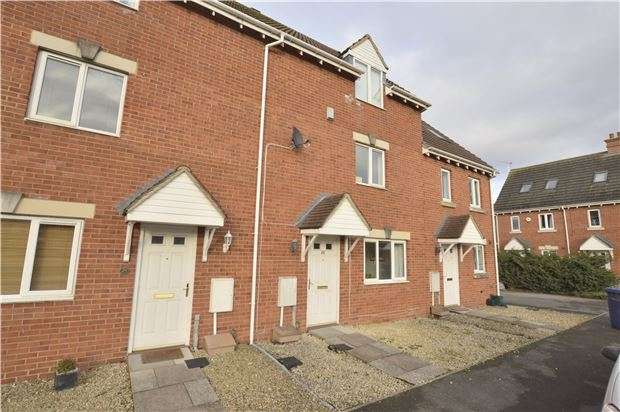 4 Bedrooms Terraced House for sale in Hanson Gardens, Bishops Cleeve, GL52 7RA