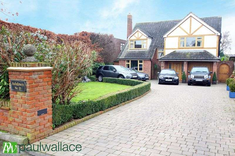 5 Bedrooms Detached House for sale in Stratfield Drive, Broxbourne