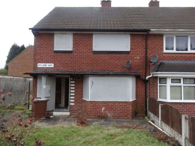 3 Bedrooms Semi Detached House for sale in Byland Way, Walsall
