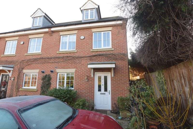 3 Bedrooms Semi Detached House for sale in Downing Close, Bletchley, Milton Keynes