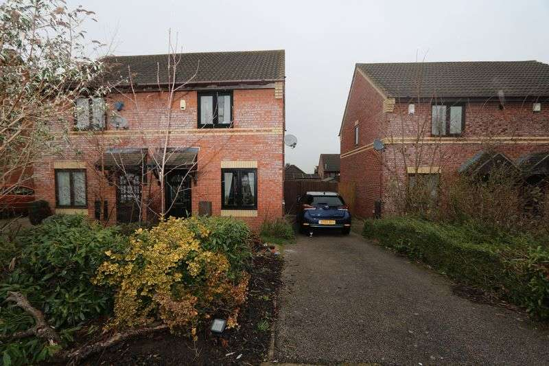 2 Bedrooms Semi Detached House for sale in Sweetlands Corner, Milton Keynes