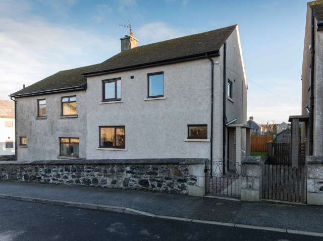 3 Bedrooms Semi Detached House for sale in Mill Street, MacDuff, Aberdeenshire, AB44 1RS