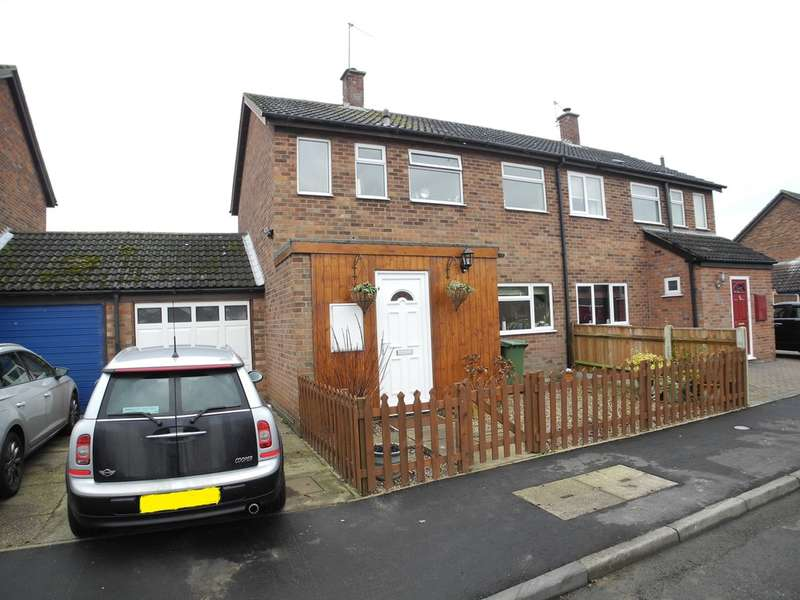 3 Bedrooms Semi Detached House for sale in Millside, Hales