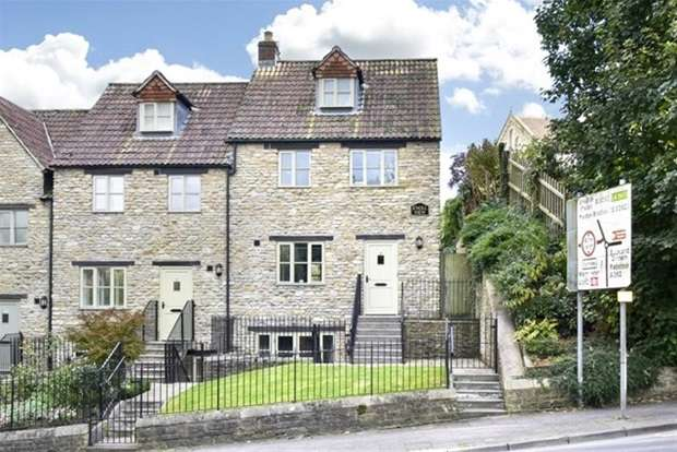 3 Bedrooms Terraced House for sale in Knoll View, Frome