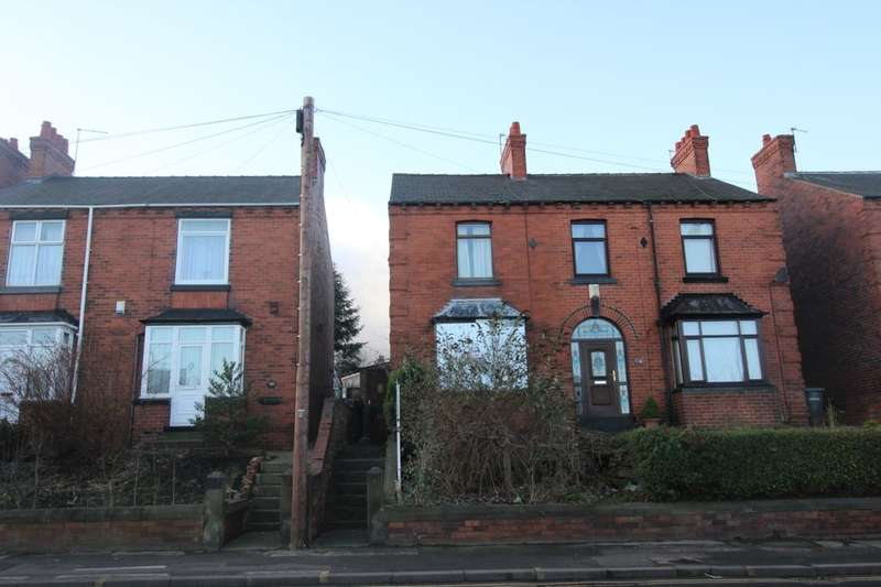 2 Bedrooms Semi Detached House for sale in Upper Sheffield Road, Barnsley, S70