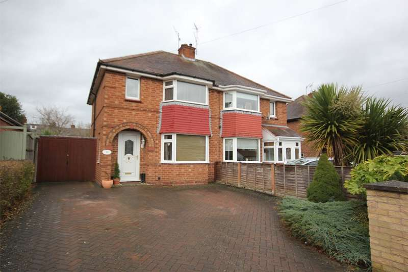 3 Bedrooms Semi Detached House for sale in Winchester Avenue, St John's, Worcester