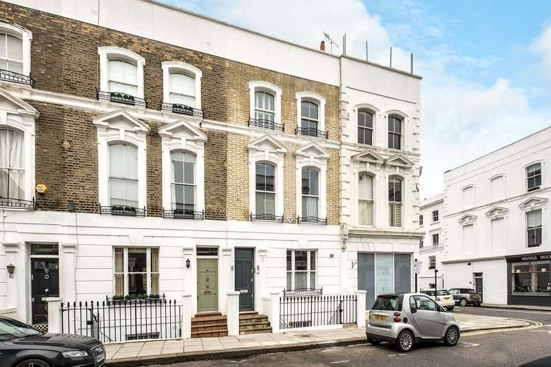 3 Bedrooms House for sale in Abingdon Road, London, W8