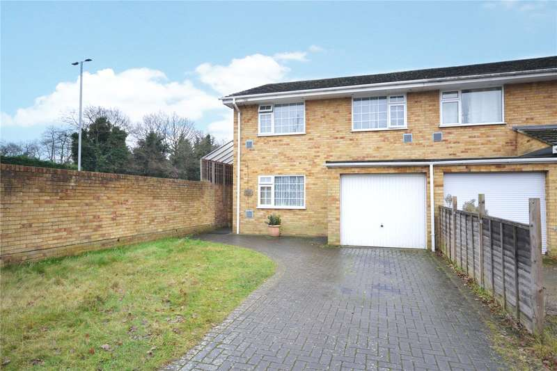 4 Bedrooms Semi Detached House for sale in Glebewood, Bracknell, Berkshire, RG12