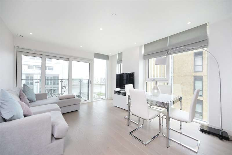 2 Bedrooms Flat for sale in Witham House, Enterprise Way, Wandsworth, London, SW18